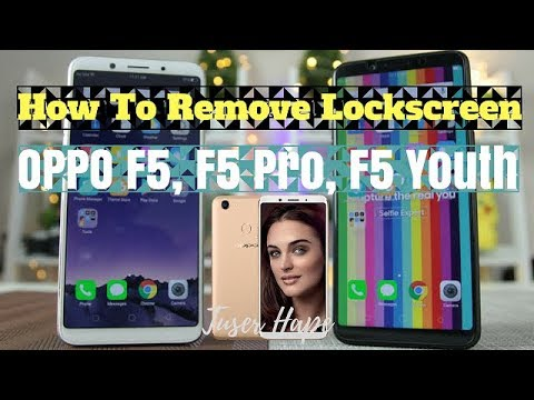 How To Flash Oppo F5 [CPH1723] | Remove Pattern Lock, Pin
