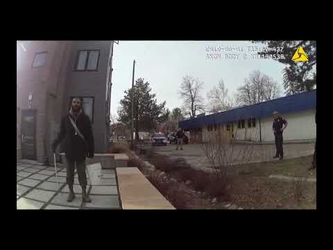 Colorado cop threatens man with gun for picking up trash on his own property