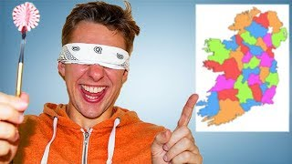 Throwing a Dart At a Map Of Ireland and Going Wherever It Lands