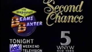 Adventures of Beans Baxter Second Chance TV spot 1987 (RARE)