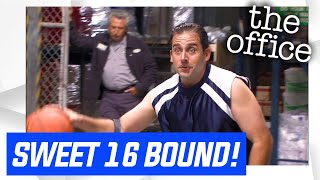 The Office Basketball | Sweet 16 - Extended Highlights - The Office US