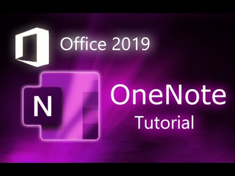 Microsoft OneNote 2019 - Full Tutorial for Beginners in 10 MINUTES ...