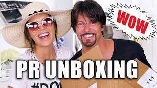 FREE STUFF BEAUTY GURUS GET | Unboxing PR Packages ... Episode 6