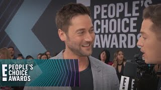 interview de Ryan Eggold au People Choice Awards 2018