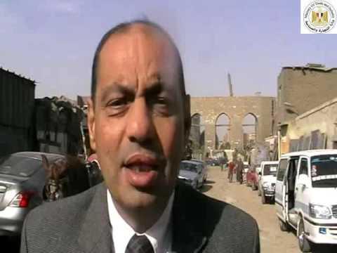 المهندس/ياسر مغربى مستشار وزير التجارة والصناعة خلال أعمال هدم المرحلة الثانية من مدابغ مصر القديمة
