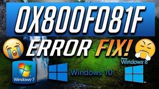 net 3 5 error 0x800f081f - Thủ thuật máy tính - Chia sẽ kinh