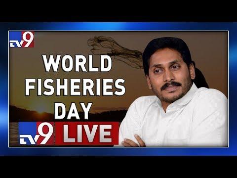 CM Jagan Participates 'World Fisheries Day' LIVE || East Godavari District - TV9