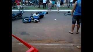 preview picture of video 'acidente ocorrido em coronel sapucaia. part.2'
