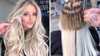 14 Hottest Hair Extension Ideas For Trend Girl Only   New Hair Transformation Tutorial