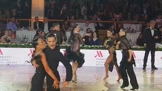 Alexander Kravchuk  & Olesay Getsko Samba Final Kremlin Cup Amateur Latin