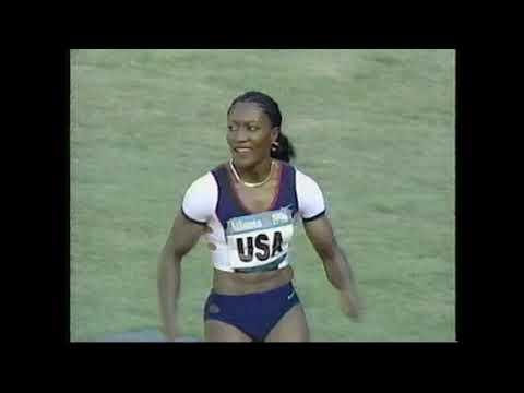 Women's 4x100m Relay Final -  1996 Summer Olympics in Atlanta