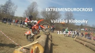 preview picture of video 'EXTREMENDUROCROSS 2015 - Valašské Klobouky 11.4.2015'