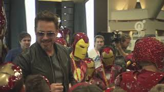 Robert Downey Jr. Crashes a Kid's Iron Man Costume Contest at Comic-Con 2012