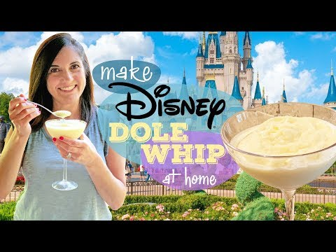 Disney's Dole Whip Recipe Revealed! | Copycat Recipe Taste Test