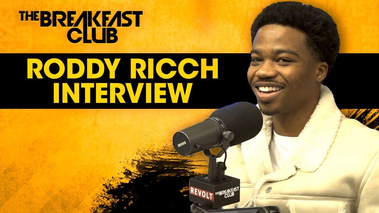 Roddy Ricch on The Breakfast Club