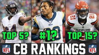 Ranking NFL Cornerbacks From WORST To FIRST For 2020