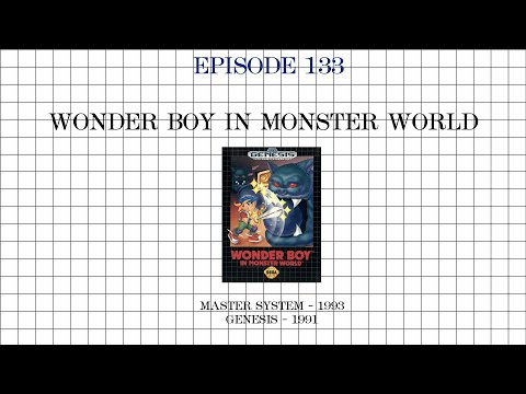 Wonder Boy In Monster World - Sega Master System Vs Genesis