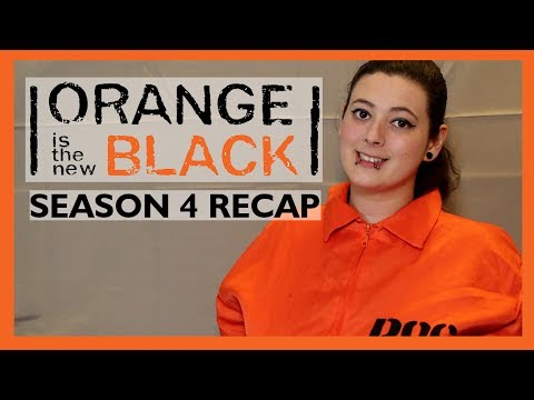 ORANGE IS THE NEW BLACK SEASON 4 RECAP || BEFORE WATCHING SEASON 5