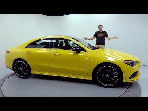 Mercedes Benz Cla Class Coupe Седан класса C - тест-драйв 3