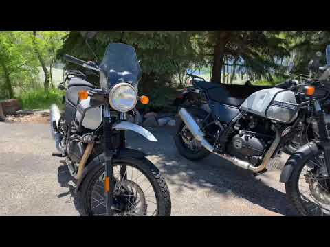 2019 Royal Enfield Himalayan 411 EFI ABS in Muskego, Wisconsin - Video 1