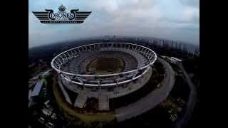 preview picture of video '2014-10-24 Stadion Śląski Chorzów z lotu ptaka drona w dzień | HD'