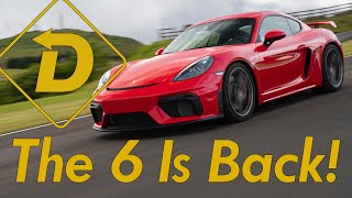 2020 Porsche Cayman GT4. The 718 Gets Its Six Back! (Does It Sound Good?).
