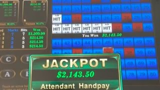 Super Big JACKPOT HANDPAY! On KENO of all things!  $10,000 of wins on Keno & slot machines in Vegas!
