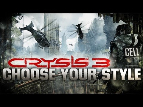 Crysis 3's Interactive Trailer Lets You Choose From Sneaky Or Overpowering