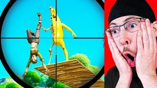 YOU WONT BELIEVE THIS LUCKY SNIPE in Fortnite Battle Royale!