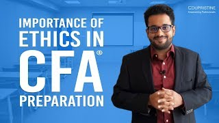 Importance of Ethics in Level I CFA® Preparation | Chartered Financial Analyst (𝐂𝐅𝐀®) EduPristine