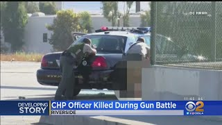 Suspect In CHP Officer's Shooting Has Long Criminal History
