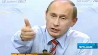 Путин на саммите заговорил по немецки