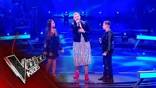 Aimee, Liam and Lucy Perform 'Emotion' | The Battles | The Voice Kids UK 2019