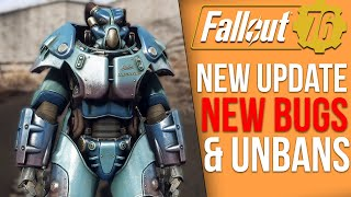 Fallout 76 News - New Update New Bugs, Big Unban Wave, New Secret Locations and Skins