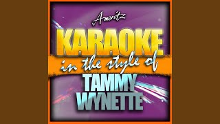 The Ceremony (In the Style of Tammy Wynette and George Jones) (Karaoke Version)
