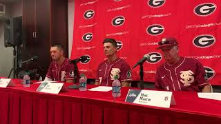 FSU's Martin, Mendoza and Becker discuss Game 1 win