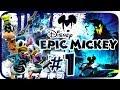 Disney Epic Mickey Walkthrough Part 1 wii Intro Dark Be