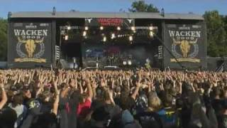 DragonForce - Through the Fire and Flames (Live @ Wacken Open Air Festival 2009)