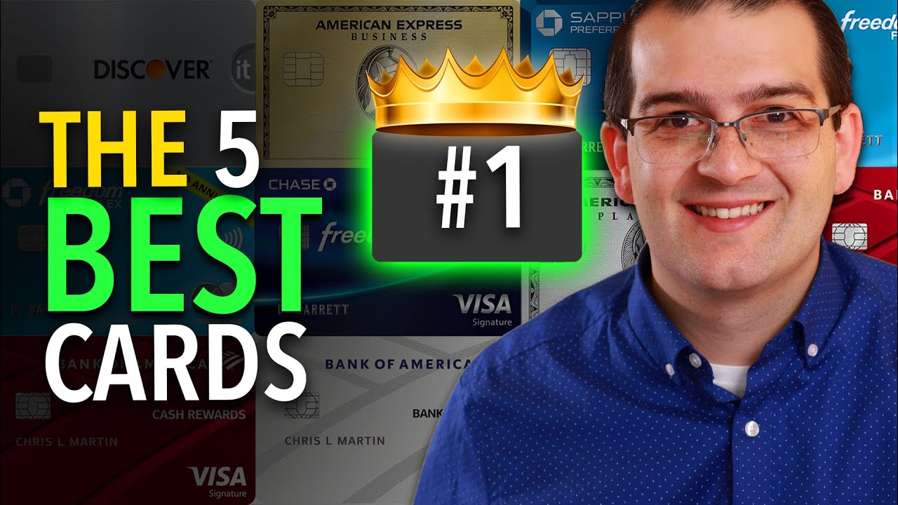 The 5 Finest Credit Cards For Beginners in 2021 thumbnail