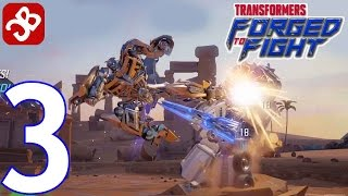 TRANSFORMERS: Forged to Fight - Gameplay Walkthrough Part 3 - ACT 1: Chapter 2
