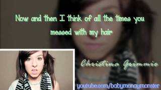 Christina Grimmie - Somebody That I Used To Know [Lyrics & Cover Video]