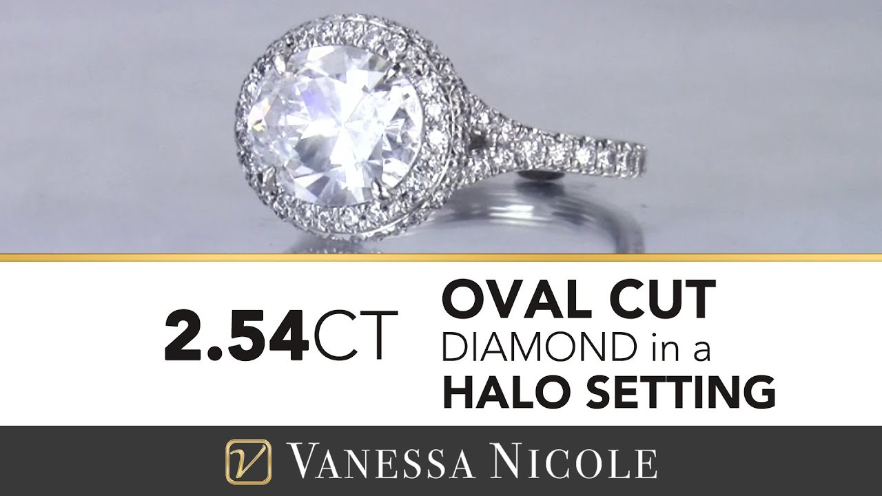 2.54ct Oval Cut Diamond Ring