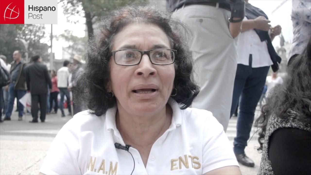 México se manifiesta en contra de Trump