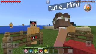 NIKKI MINECRAFT:Meeting Chase And Jerimah At The Beach/w Mimi