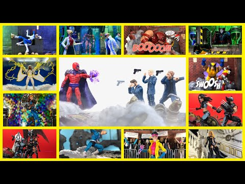 X MARKS THE SPOT HIGHLIGHT REEL: A showcase of my top Marvel Legends X-Men Pics this year