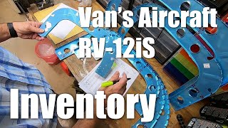 Van's Aircraft RV-12iS Tail Kit Inventory