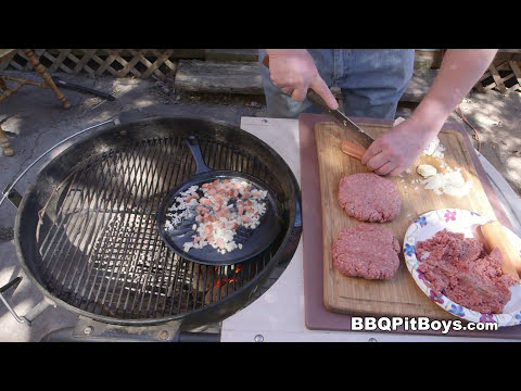 Dog Burgers by the BBQ Pit Boys