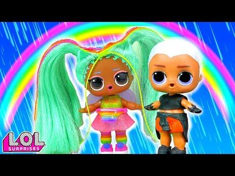 Мария В ШОКЕ! У Витчи новая подружка! Мультик про куклы лол сюрприз LOL dolls видео