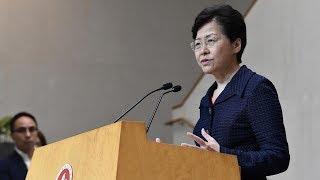 HKSAR chief executive calls for dialogue to solve problems