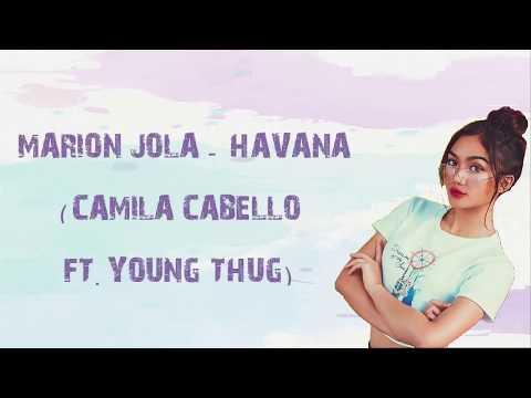 Marion Jola - Havana (Camila Cabello Ft Young Thug)   Indonesian Idol 2018